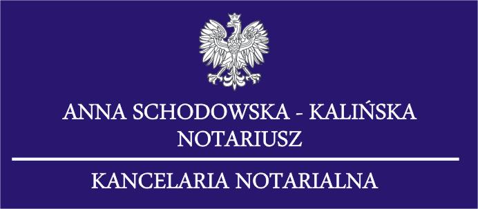Anna Schodowska – Kalińska Notariusz